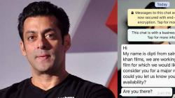 Salman Khan denies rumours of new film, warns legal action against impersonator