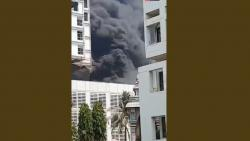 Fire breaks out in under-construction building; doused