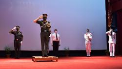 NDA's passing out parade adapted 'Do Gaj Ki Doori' amid COVID-19 pandemic