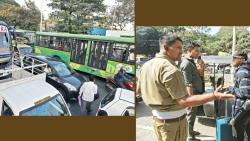 ST stand hit by traffic chaos, autorickshaws have a field day