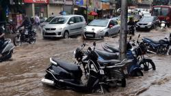 Pune rains: Parking full, shops empty; continuous showers keep customers safe at home