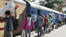 No train fare charged from migrant workers