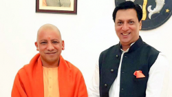 Adityanath has asked officials to identify land suitable for the film city project in NCR.