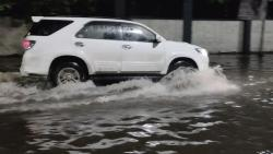 Water logging from many parts of the city has also been reported.
