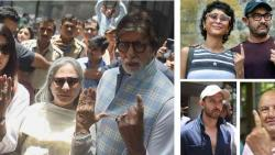 Bollywood stars vote in Mumbai, ask fans to exercise franchise