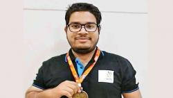 Zeal student wins Gold medal