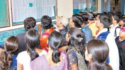 Considering the situation, education institutes had requested the education office to conduct the admission process in an offline manner.