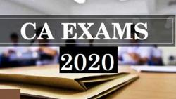 Chartered Accountant exams to be held in November