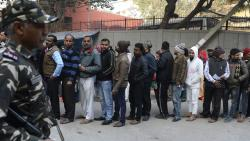 Delhi turnout goes up in last few hours, 54.65% voting by 6 p.m