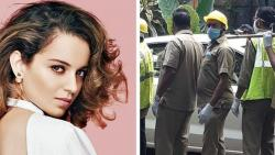 BMC condemned for razing Kangana's office in Mumbai