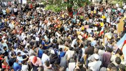 Students, activists protest against CAA