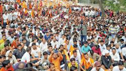 Mixed response in city to strike