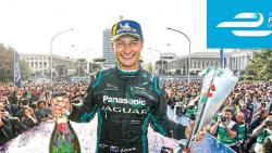 Mitch Evans wins first Formula E race for Jaguar Racing