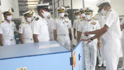 Southern Naval Command develops Germicidal Chamber to check spread of COVID-19