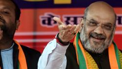 Amit Shah dares Kejriwal to visit Shaheen Bagh,asserts Modi govt will not spare anti-nationals
