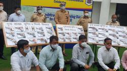 Inter-state firearms smuggling racket busted; 42 pistols worth Rs 19.89 lakh seized