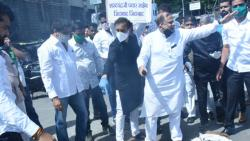 Pune: NCP workers protest against Padalkar over Sharad Pawar remarks