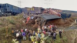 Three killed after two goods train collide in MP