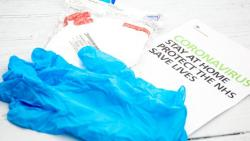 COVID-19: All gloves, face masks should be cut; store for 72 hours before disposal
