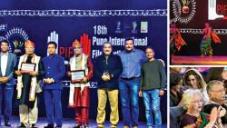 Vikram Gokhale and BP Singh feted at PIFF inauguration