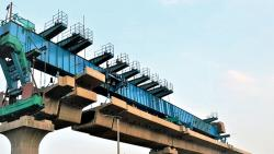 'World class equipment is being used for Metro work'