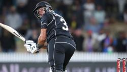 Taylor's ton helps NZ ace thrilling chase against India