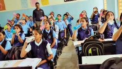 City school starts a 'Water Bell' campaign for students