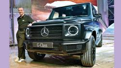 Mercedes-Benz Launches G-class SUV In India