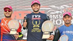 TVS Rider Ravikumar Halts A Virtual Honda Sweep
