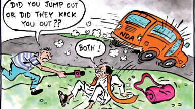 Shiv Sena left out of NDA meet