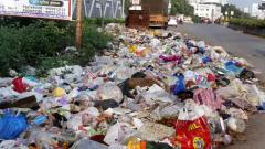 Pune: Purandar welcomes citizens with dumped garbage all around ghat roads