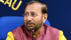 """Reassuring the automobile industry, Prakash Javadekar said, """"Infrastructure is the only answer to the growth story of India, and the government is looking at investing 100 lakh crore towards infrastructure projects."""""""