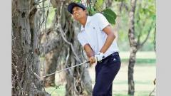 Aryan opens up 2-stroke lead with par-71 show