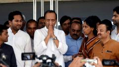 Not taking oath as minister today: Ajit Pawar