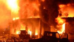 70 killed as massive fire spreads at lightning speed through chemical warehouses in Bangladesh