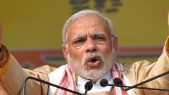 Congress politics centred around a family; BJP for development: PM
