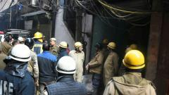 43 killed as inferno rips through north Delhi factory