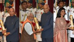 President confers Padma awards on 47 'inspiring' personalities