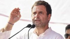 Rahul Gandhi takes on Rajnath Singh, questions Centre on Chinese intrusion
