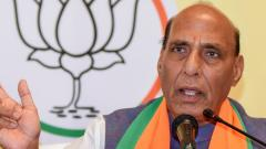 Timing of MHA notice to Rahul not relevant, it's normal process: Rajnath Singh