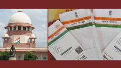 SC seeks reply from Centre, UIDAI on plea challenging 2019 Aadhaar Ordinance
