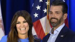 Donald Trump Jr's girlfriend tests COVID-19 positive