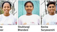 Sapna, Shubhangi, Ravina set for WC