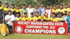 Pote scores 3 as Team Pune wins Junior Hockey title