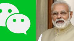 Chinese app WeChat removes updates on the border tension by Narendra Modi