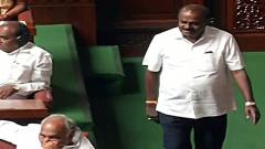 Kumaraswamy moves confidence motion in Karnataka Assembly