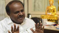 Kumaraswamy attacks Karnataka govt over flood relief