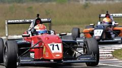 Manaf notches maiden single-seater win
