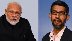 Narendra Modi interacts with Google's Sundar Pichai on technology, new work culture