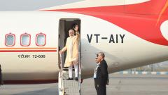 PM Modi arrives in Nepal on two-day visit
